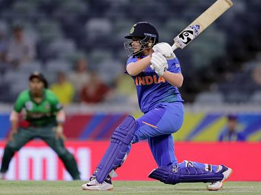 Shafali Verma impressed once again with the bat. ICC Media