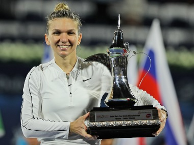 Dubai Tennis Championships Simona Halep captures 20th singles title with tiebreaker win over Elena Rybakina