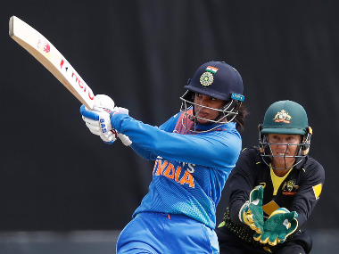 File image of India women's Smriti Mandhana. Twitter/@BCCI