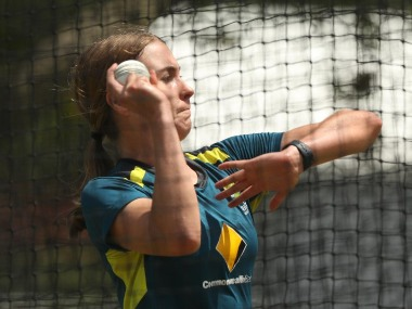 Tayla Vlaeminck has been ruled out due to stress injury in her right foot. Image: @T20WorldCup