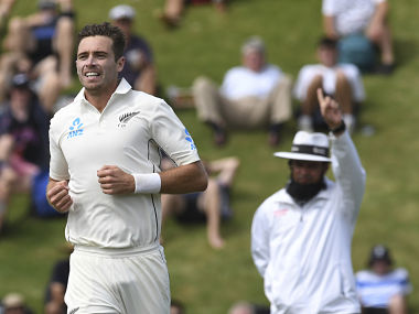 Tim Southee knew that Rahane had no option but to attack once Pant was dismissed. AP