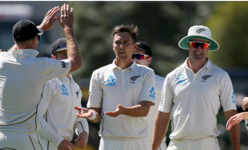 New Zealand's pace attack will be bolstered with Trent Boult's return in the Test series against India. Getty Images