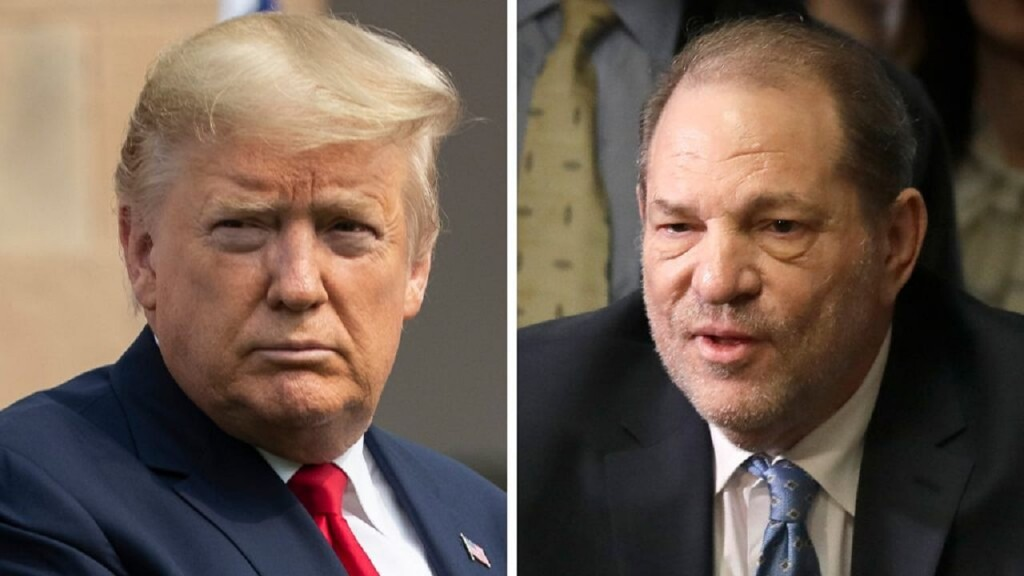 Donald Trump hails Harvey Weinstein conviction says the verdict sends strong message for women