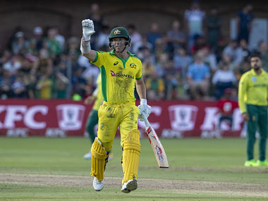 David Warner's efforts went in vain as Australia stumbled to a disappointing loss. AP