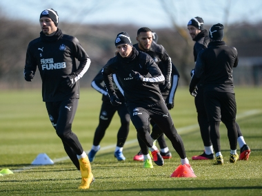 Newcastle United players and staff asked to avoid handshakes to contain spread of <span class=