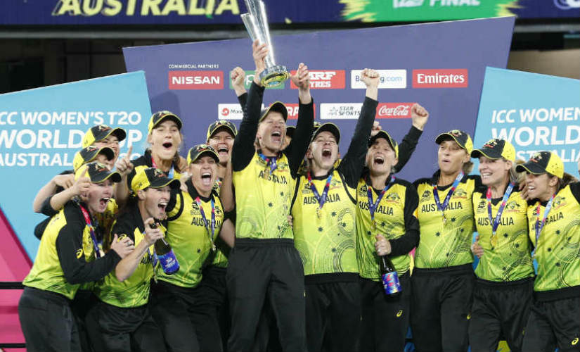 Australia oozed confidence and went about their business with aggression, eventually lifting their fifth Women's T20I World Cup title. AP