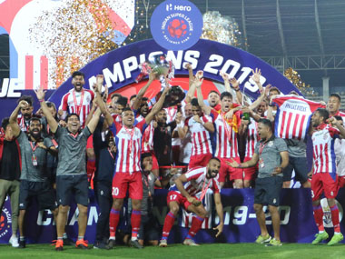 ISL 201920 Javier Hernandez scores brace as ATK beat Chennaiyin FC to lift third league title in six years