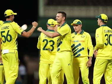 Australia beat New Zealand by 71 runs in the first of three one-day internationals. Twitter @ICC
