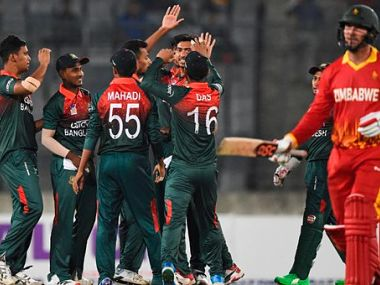 Bangladesh have taken a 1-0 lead in the two-match T20I series. Twitter @ICC