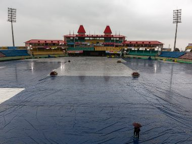 Rain is expected to affect the 1st India-South Africa ODI at Dharmsala. AP