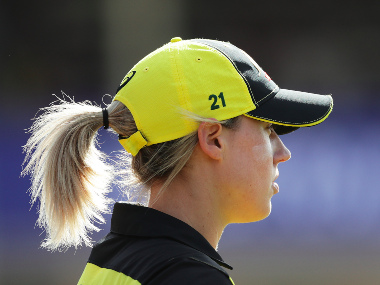 File image of Australia all-rounder Ellyse Perry. Image credit: Twitter/@AusWomenCricket