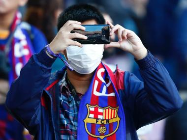 LaLiga Fans to be asked to wear face masks avoid hugs and highfives when theyre eventually allowed in stands