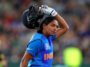 Harmanpreet Kaur could collect a total of 30 runs from five games in the 2020 ICC Women's T20 World Cup. AP