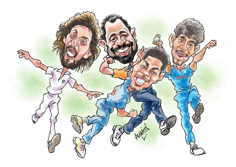 To say that Team India's performances in New Zealand this past month, where we were beaten black and blue by the Black Caps, has been disheartening, would be an understatement. Illustration courtesy Austin Coutinho