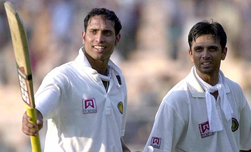 VVS Laxman and Rahul Dravid famously batted the entire fourth day of the Kolkata Test in 2001 against Australia, to script a historic win for India. AFP