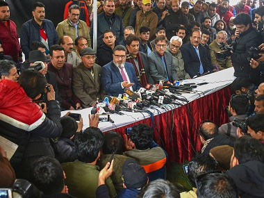 Altaf Bukhari floats Jammu and Kashmir Apni Party outfit aims to restore statehood ensure safe return of Kashmiri Pandits