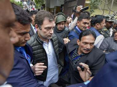 Hindustan is being divided burnt says Congress leader Rahul Gandhi after visiting violencehit areas of northeast Delhi
