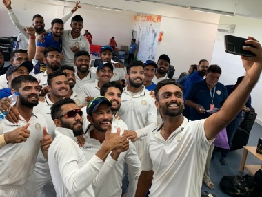 Saurashtra are in their fourth Ranji Trophy final in eight seasons. Image: @saucricket