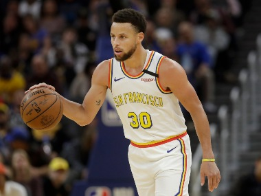 NBA Warriors Stephen Curry scores 23 in longawaited return but Raptors clinch playoff spot
