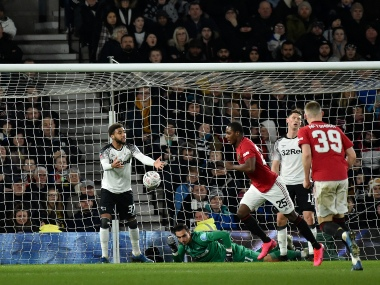 FA Cup Manchester United ease past Wayne Rooneys Derby County to progress into quarterfinals