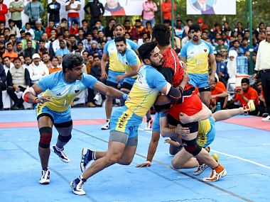 Senior National Kabaddi Championship Vikash Kandola leads Railways to another semifinal Naveen Kumar powers Services into lastfour
