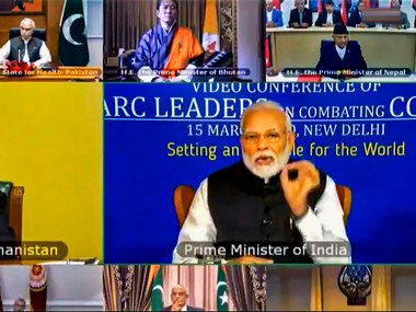 Narendra Modi urges SAARC nations to jointly combat coronavirus proposes setting up emergency fund to deal with pandemic