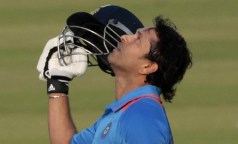 Sachin Tendulkar's 111 went in vain as South Africa defeated India by three wickets in their 2011 Cricket World Cup clash at Nagpur. Reuters