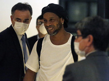 Everyone welcomed me Now free on bail Ronaldinho thanks fellow inmates