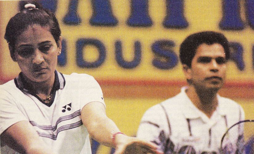 Past Masters of Indian Badminton Madhumita Bisht  tigress of the badminton courts
