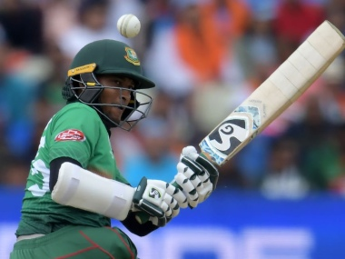Shakib Al Hasan scored 606 runs during the ICC World Cup 2019. Image courtesy: Twitter @cricketworldcup