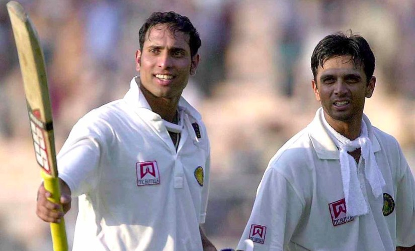VVS Laxman and Rahul Dravid forged a memorably 376-run stand for the fifth wicket to take the game away from the Australians. AFP