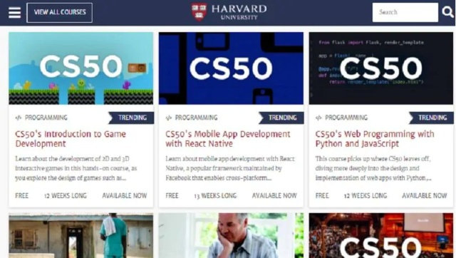 Harvard University offers 67 online courses for free to help academics through lockdown quarantine