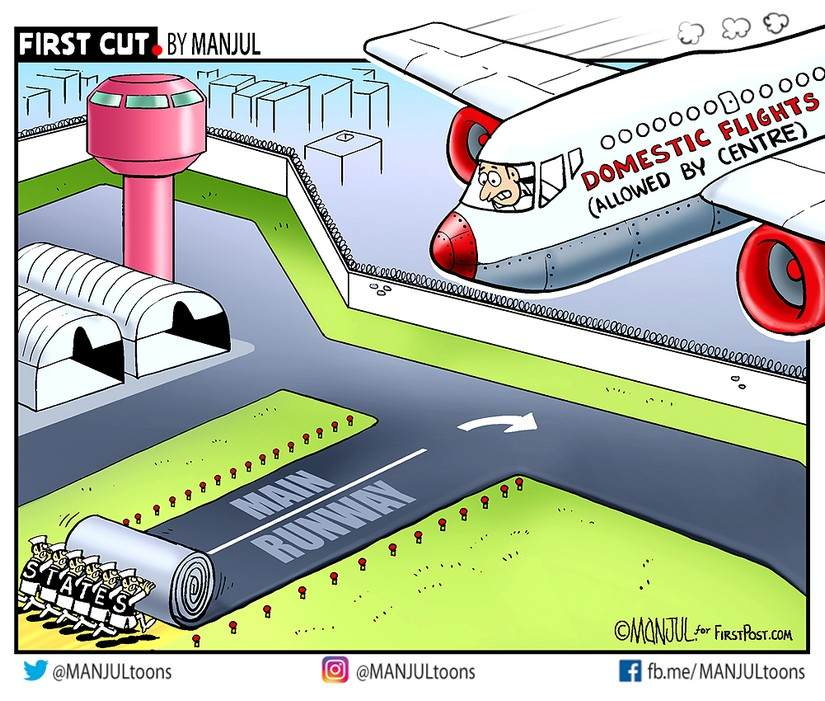 Maharashtra allows 50 flights to and from Mumbai airport today as domestic air travel resumes; U-turn hours after CM seeks more time