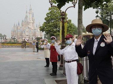 Shanghai Disneyland reopens amid concerns over resurgence of <span class=