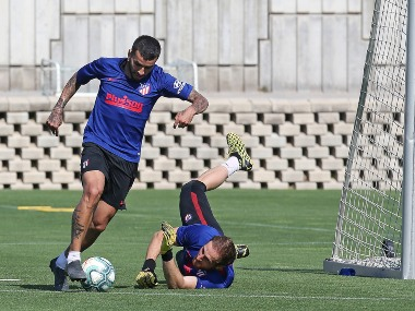 LaLiga Atletico Madrid forward Angel Correa suffers muscle injury in training