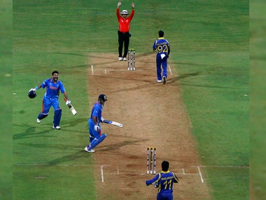 File image of the 2011 World Cup final between India and Sri Lanka. Reuters