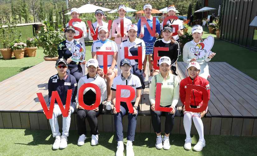 Golf gingerly returns to courses but the best competition comes from South Korea women at 25 million LPGA event