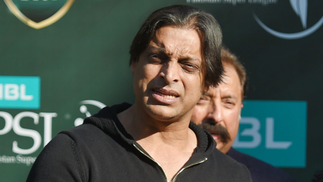 File image of former Pakistan fast bowler Shoaib Akhtar. AFP