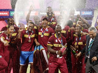 West Indies are the defending champions of the men's T20 World Cup. AP