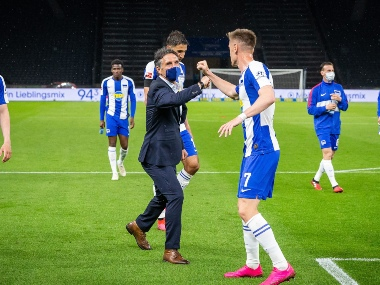 Bundesliga Once seen as a desperate appointment Hertha Berlin boss Bruno Labbadia reviving teams fortunes