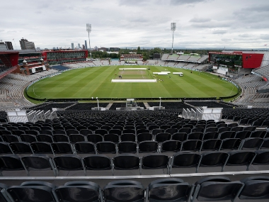 File image Old Trafford cricket ground. AP