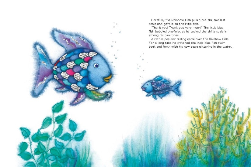 A case for subversive childrens stories Contrasting the messaging in The Rainbow Fish with Room on the Broom
