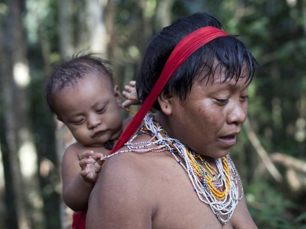 Satellite imagery shows illegal gold mining in Brazil has increased threatens the Yanomami tribe in the heart of the Amazons