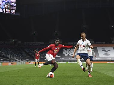 Premier League Manchester United boss Ole Gunnar Solskjaer encouraged by Paul Pogba performance against Tottenham