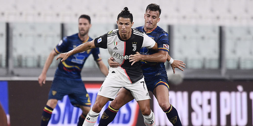 Serie A: Cristiano Ronaldo back in form as leaders Juventus thrash 10-man Lecce 4-0 - Sports News , Firstpost