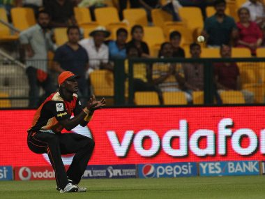 Darren Sammy during his time with Sunrisers Hyderabad. Image: Sportzpics for BCCI