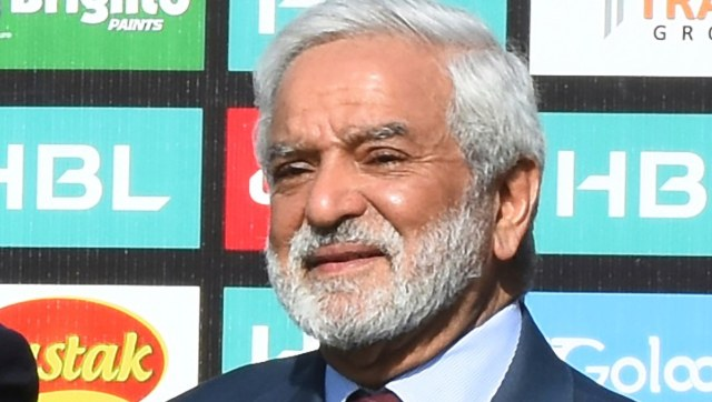File image of Pakistan Cricket Board chairman Ehsan Mani. AP