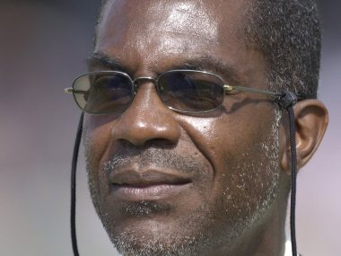 File image of Michael Holding. Twitter @ICC