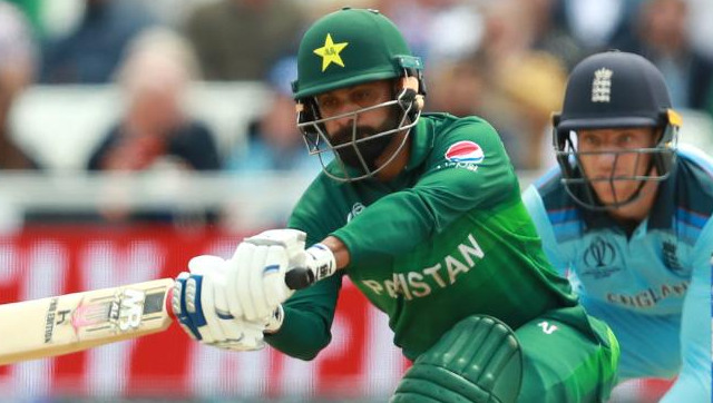 File image of Mohammad Hafeez. Image credit: Twitter/@ICC