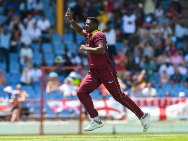 Oshane Thomas has so far represented West Indies in white-ball cricket after bursting onto the scene in 2018. Twitter @ICC